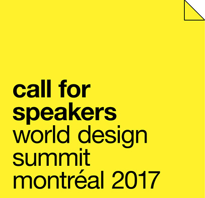 World Design Summit Call for speakers