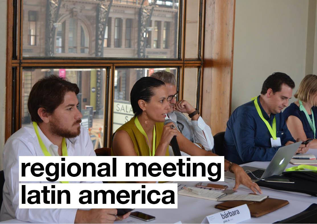 Regional Meeting Latin America: Report