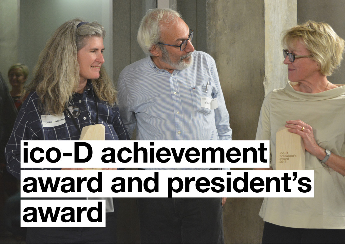 ico-D Achievement Award and President's Award