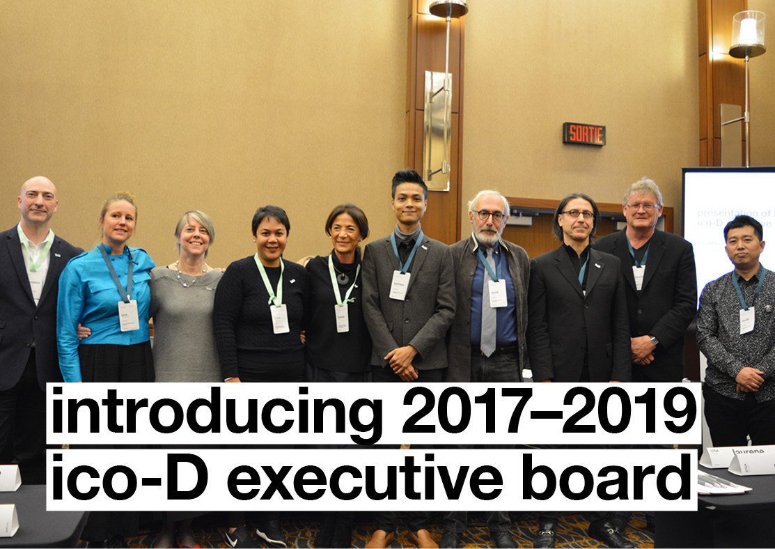 Meet the 2017-2019 ico-D Executive Board