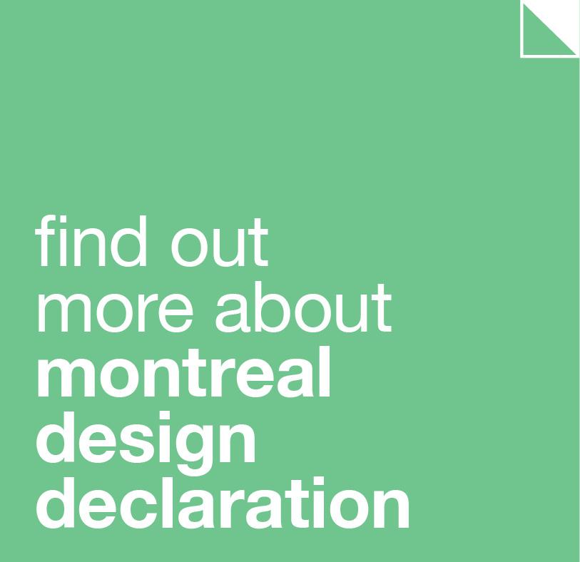 Montreal Design Declaration