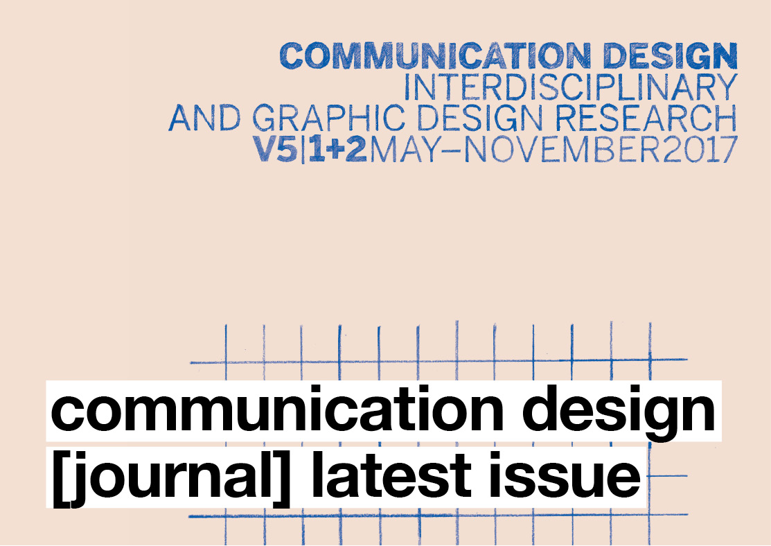Communication Design [journal] Latest Issue