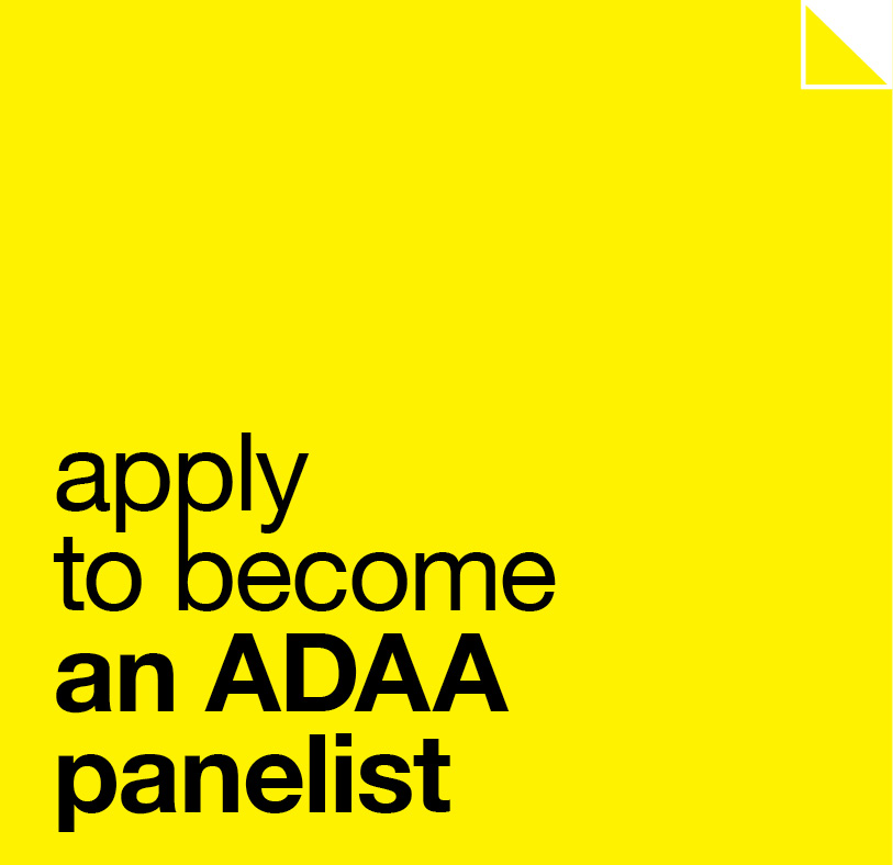 Apply to become an ADAA judge