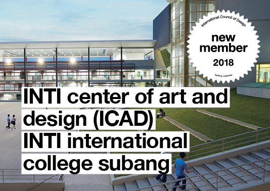 New Member | INTI Center of Art and Design (ICAD) INTI International College Subang