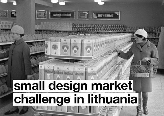 Small design market challenge in Lithuania