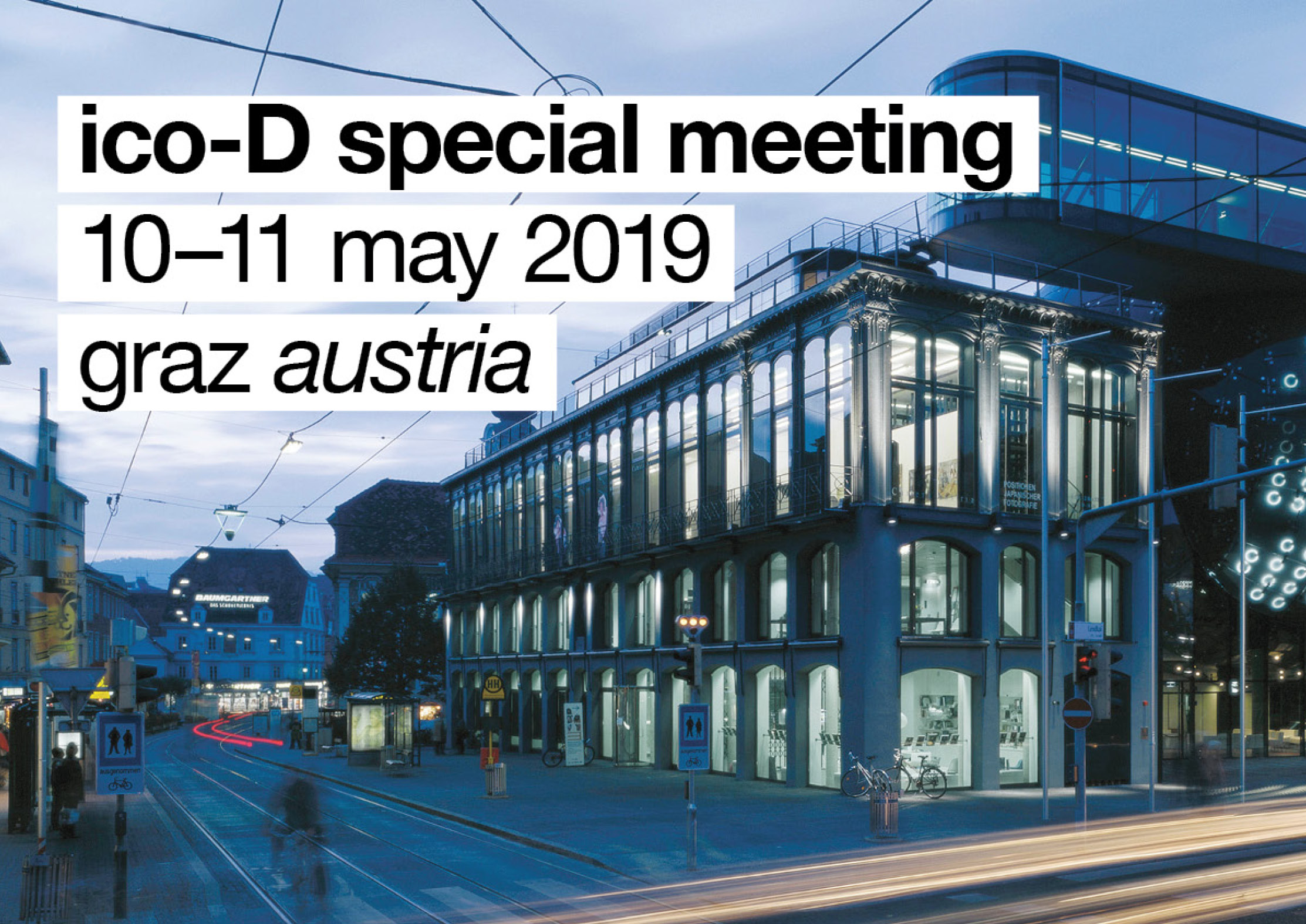 SM2019 Graz Announcement