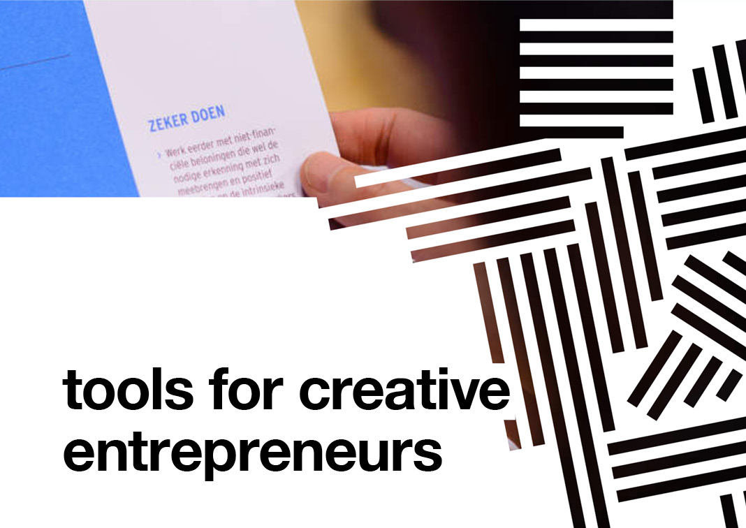 Tools for creative entrepreneurs