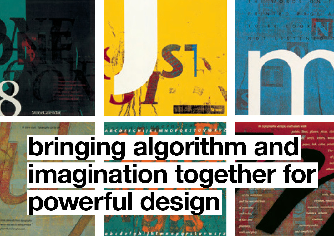 Bringing algorithm and imagination together for powerful design