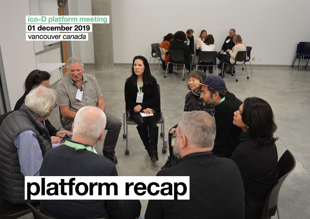 Platform recap