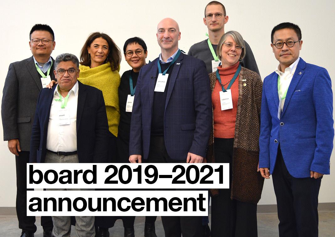 Board announcement 2019-2021