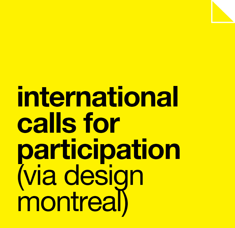 International Calls for Participation