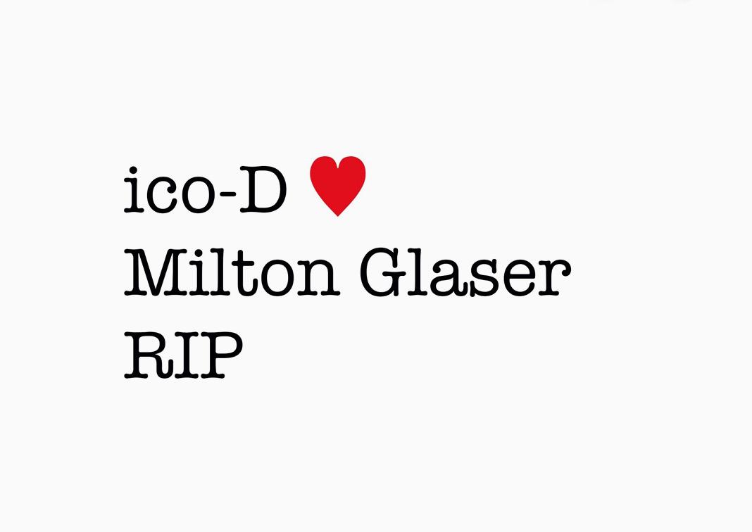 ico-D <3 Milton Glaser
