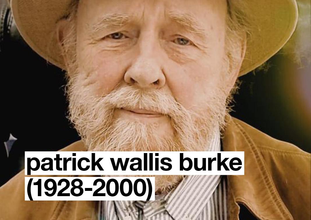 In Memoriam: Patrick Wallis Burke (1928-2000)